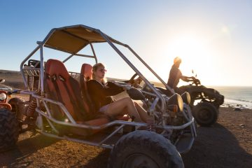 Extreme sports as a team building exercise: Buggy Racing