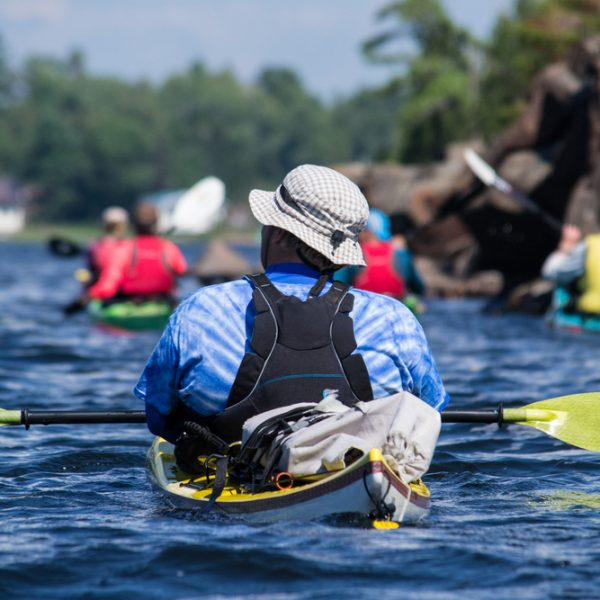 Sea kayaking as a team building exercise for hotel staff